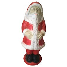 "13"" Papier Mache' Santa with Light-1930s Era - Red Tag Sale Item"