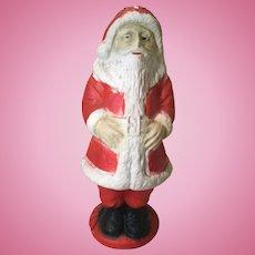 "13"" Papier Mache' Santa with Light-1930s Era"