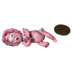 Tiny OOAK Gehlhardt Artist Made Baby Doll