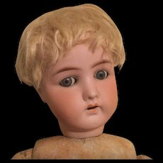 Early 20c. Blond Mohair Baby/Boy Wig