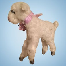 Vintage Fluffy Lamb for Mignonette