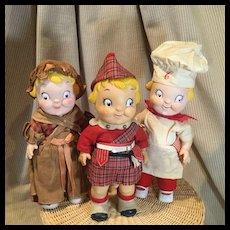 Three Vintage Campbell Kids