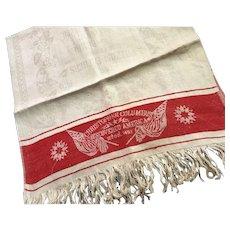 Christopher Columbus & Pilgrim Show Towel