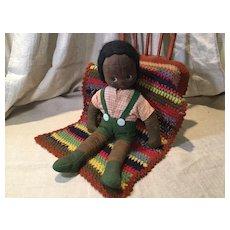 A.R.I. Ltd. A/A Cloth Doll & Afghan