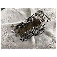C.1893 Soft Metal Doll House Carriage possible B. Schwiezer
