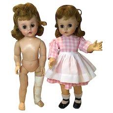 2 Mdme Alex Kelly Dolls, Edith