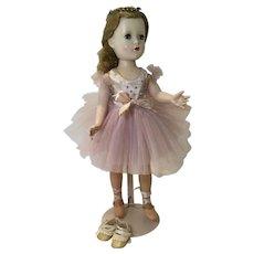 C.1950 HP Madame Alexander Ballerina