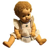 """Wee Pinafore for 11""""/12"""" DyDee or Tiny Tears"""