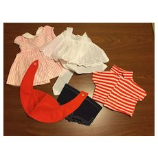Five Piece Assortment of Chatty Cathy Clothes