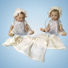 2 R&B Doll Co. Quints & Extra Gowns