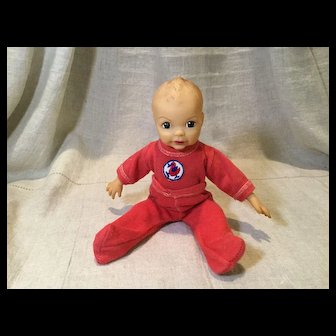 """2 Piece Cotton Knit Sleeper for 9"""" to 11"""" Baby Doll"""