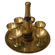 Petite Champagne Set for Your Small French Fashion