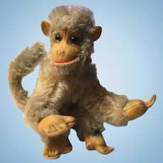 Vintage Hermann Monkey in Mohair