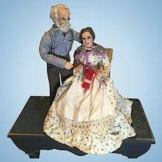 Pre 1970 Artist Dolls by Betty Curtis of Maine