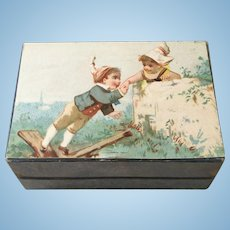 Wonderful Hinged Box with Silk Liner