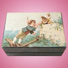 Wonderful Hinged Box with Silk Liner