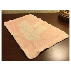 Esmond Pink Teddy Bear Blanket