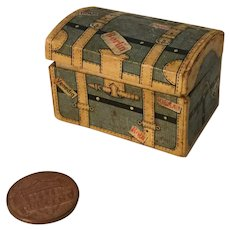 German Wee Trunk Shaped Candy Container
