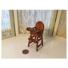 Kilgore Cast Iron Doll House High Chair