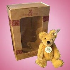 "4"" Steiff Miniature Club Bear in Orig. Box"