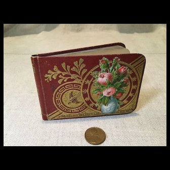 Child or Large Doll Size Autograph Book
