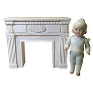 Vintage Doll House Fireplace Surround