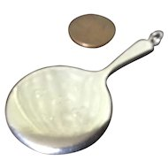Miniature Sterling Hand Mirror by Webster
