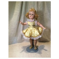 C.1950 Madame Alex Babs the Skater Outfit on Mid 50s MA Amy doll