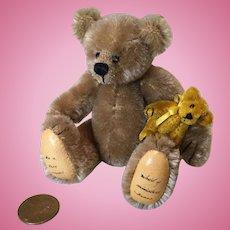 Dear Miniature Mohair Artist Bear