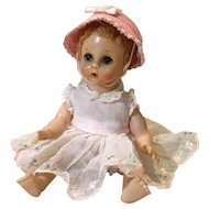 "Madame Alexander Little Genius 7"" Baby Doll"