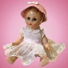 """Madame Alexander Little Genius 7"""" Baby Doll"""