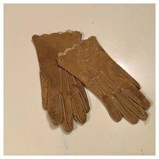 C. 1900 Fine Kid Doll Gloves