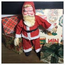 "12"" Vintage Santa Claus-Cloth and Celluloid"