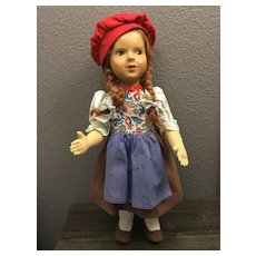 Charming Cloth and Composition Child Doll