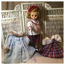 """C.1958/9 Betsy McCall in 14"""" SIze, All Original Outfit +"""