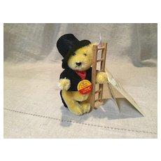 C.1999 Millenium Miniature Steiff Bear as Chimney Sweep