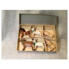 6 All Original & Boxed Kunstlerschutz Farm Animals