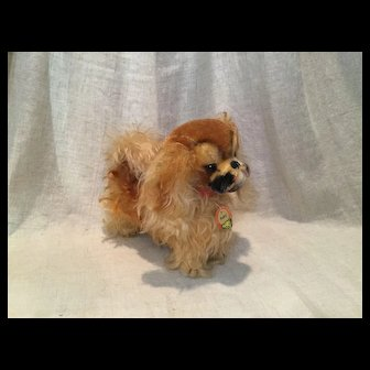 """Steiff """"Peky"""" with Neck Tag-8-1/4"""" or 21c."""