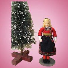 Ronnagg  Petterssen Swedish Felt & Cloth Doll