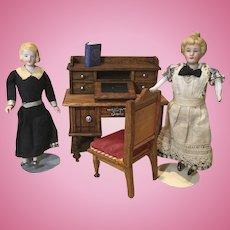 Late 19c. German Doll House Desk