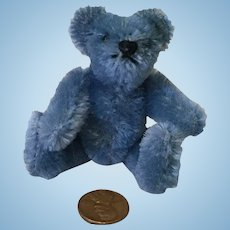 "3-1/2"" Steiff Vintage Jointed Teddy Bear"