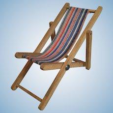 1950 Miniature Beach Chair