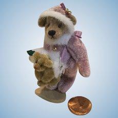 "Deb Canham Miniature Bear ""Alexandra"""