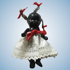 """4"""" Painted Bisque AA Baby DOll"""
