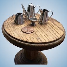 Sterling Silver Miniature Tea Set