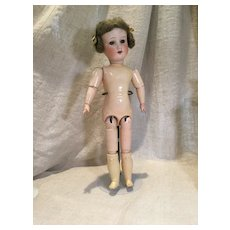 """15"""" AM 390 with Antique Mohair Wig-ready to dress"""