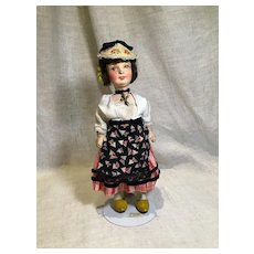 Jointed French Doll in Regional Dress