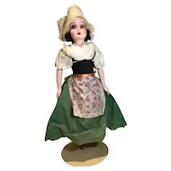 Deco Era French Regionally Dressed doll