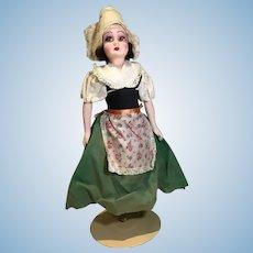 Deco Era French Regionally Dressed doll