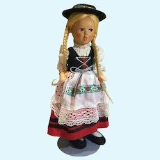 "#4 Austrian Made Baitz 9"" Doll"